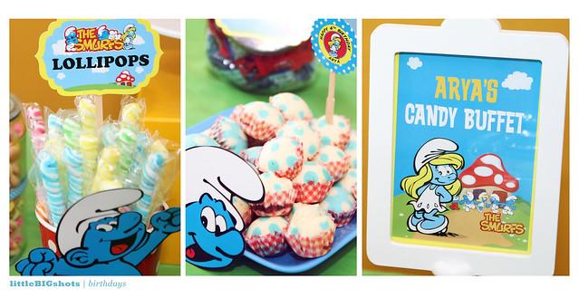 Smurfette Arya is 4! | Birthday Party Photographer Malaysia