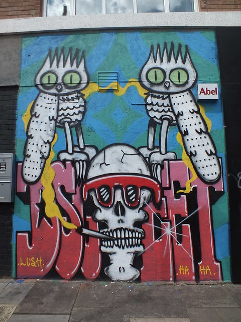 Dscreet Graffiti, Shoreditch, London