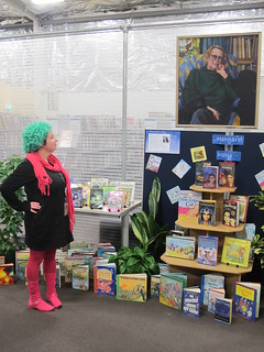 Margaret Mahy displays