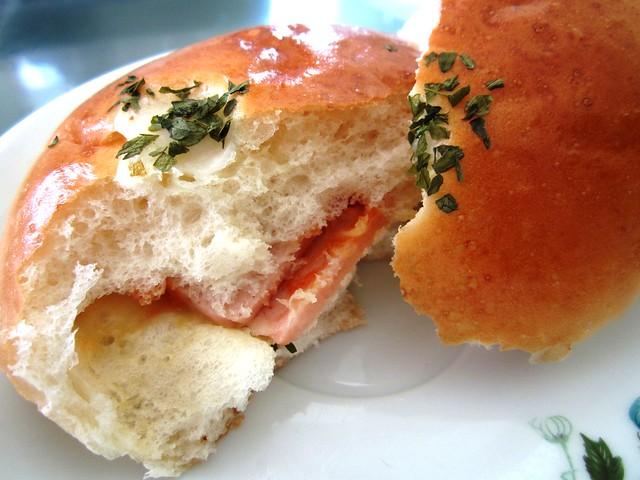 Ham & cheese bun