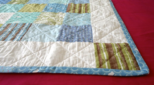 Full moon fancy quilt detail