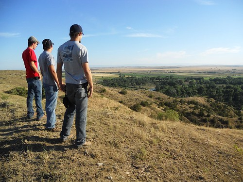 Overlooking the Battle of the Little Bighorn