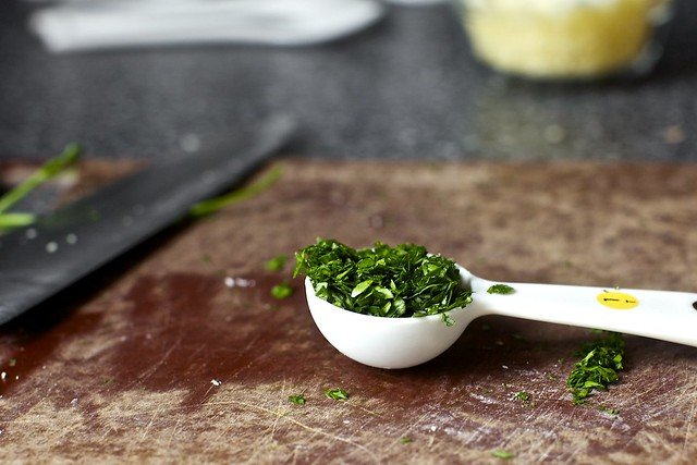 minced parsley