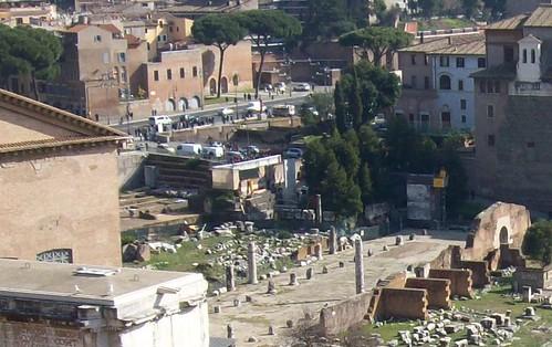 Un Moderno Foro Di Roma.Roma Archeologia Foro Della Pace Il Primo Intervento Si