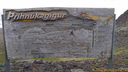 Map of Thrihnukagigur's magma chamber