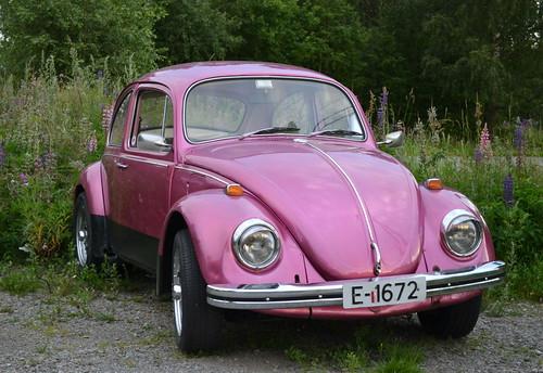 Pink Volkswagen