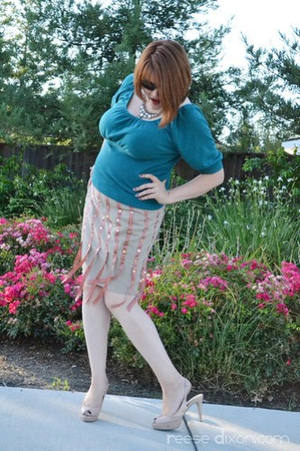 Flapper Inspired Skirt