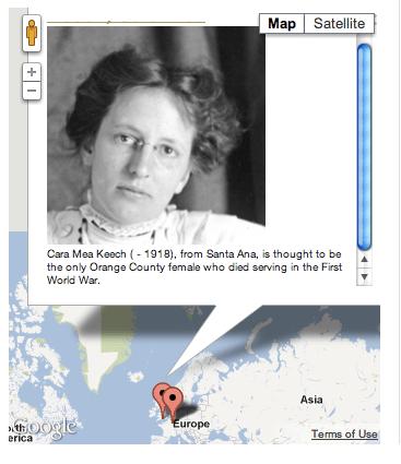 Map Marker with Description