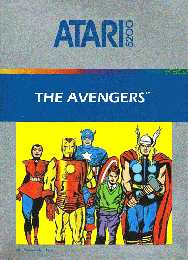 The Avengers for the Atari 5200