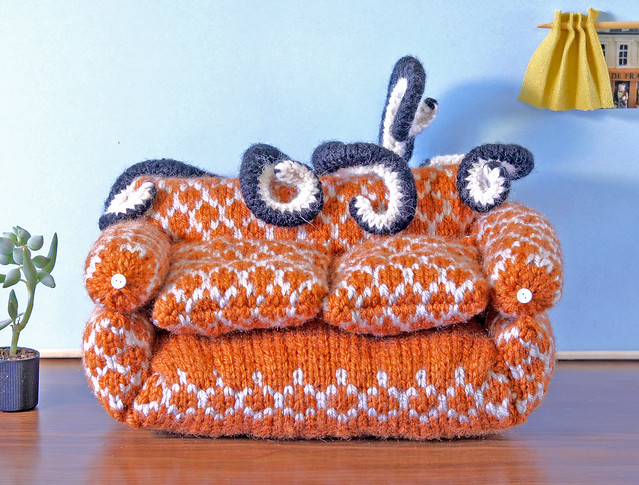 Knitted Sofa
