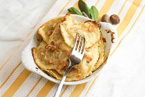 Baked Butternut Ravioli (5 of 6)