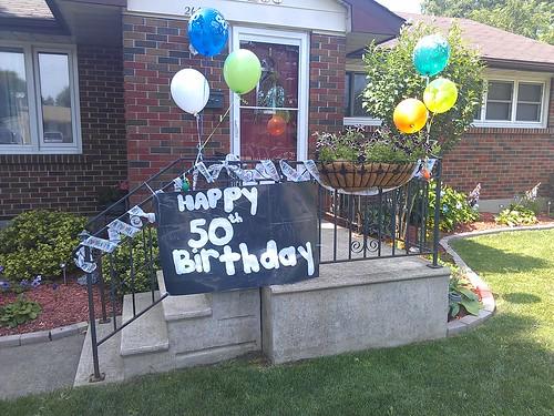 50th Birthday Celebration...