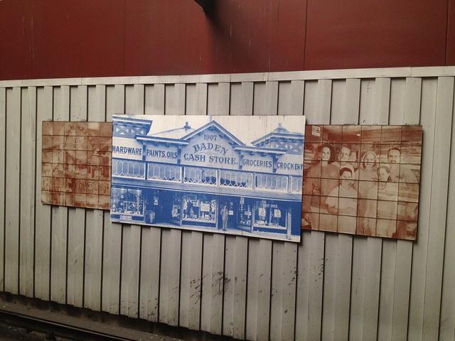 South San Francisco Bart station artwork