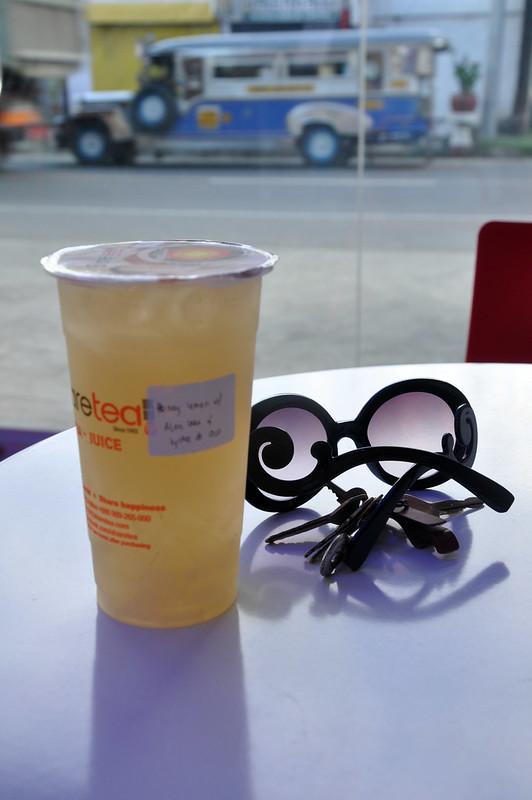 Honey Lemon with Aloe and Lychee de Coco