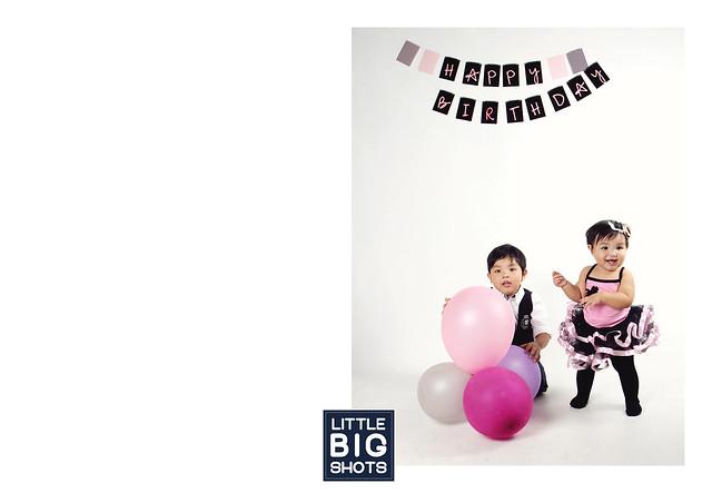 Happy Birthday Hariz Aazad & Mea Hannah