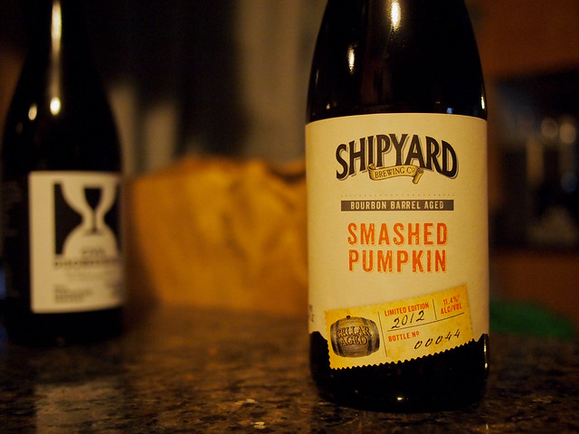 Shipyard Bourbon Barrel Aged Smashed Pumpkin
