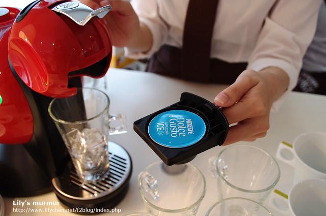 膠囊上面有寫ICE字樣,表示是可以作成冷飲的新口味!