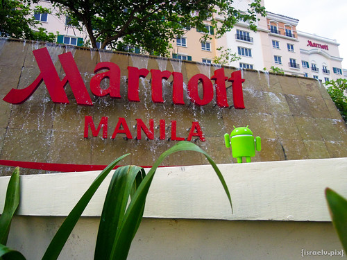 Checking out Marriot Manila by {israelv}