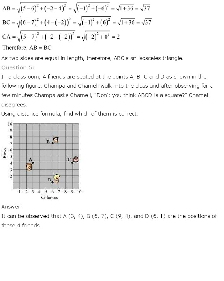 NCERT Solutions For Class 10th Maths Chapter 7 Coordinate Geometry PDF Download 2018-19 freehomedelivery.net
