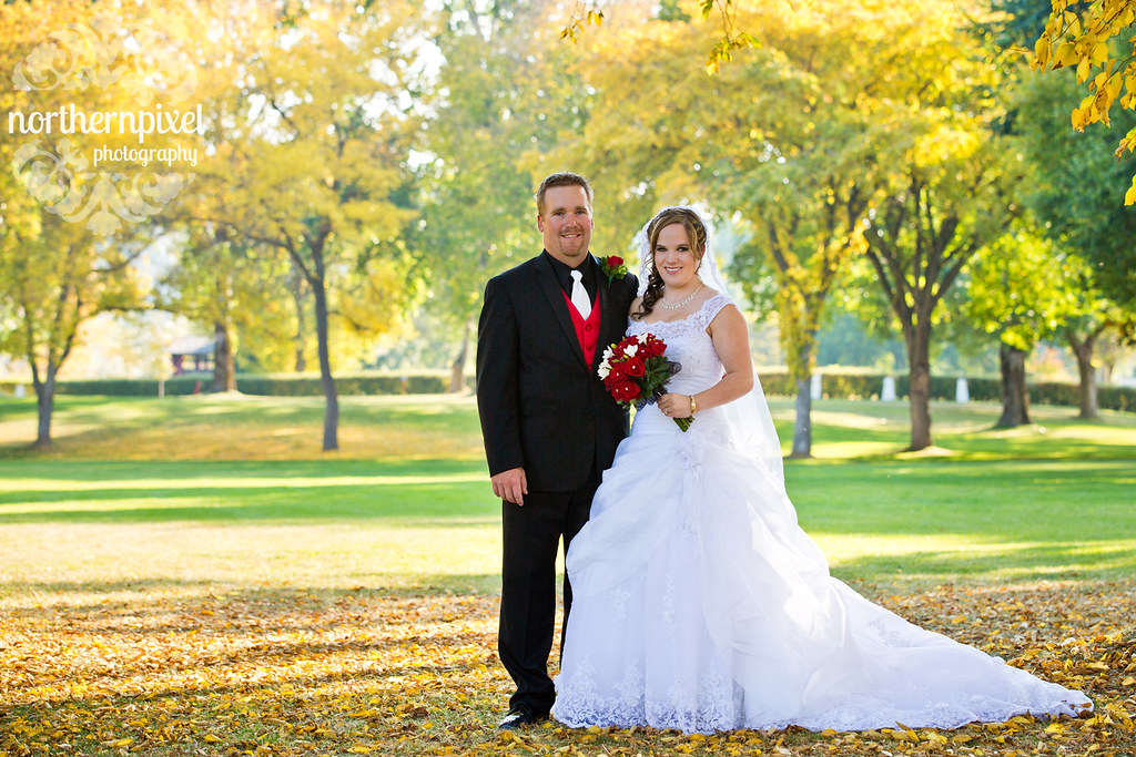 Fort George Park Newlyweds wedding couple