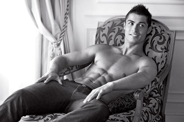 Cristiano Ronaldo naked for Emporio Armani jeans campaign