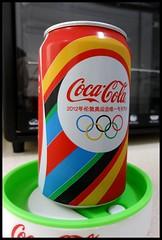 2012 Olympic Coke can