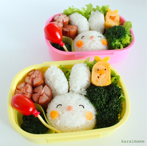 The first Spring bento!