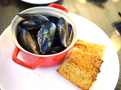 Mussels in cream, Cornerstone Restaurant, Bishan Park 2