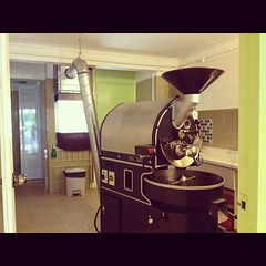 Probat Roaster, Nylon Coffee Roasters, Everton Park