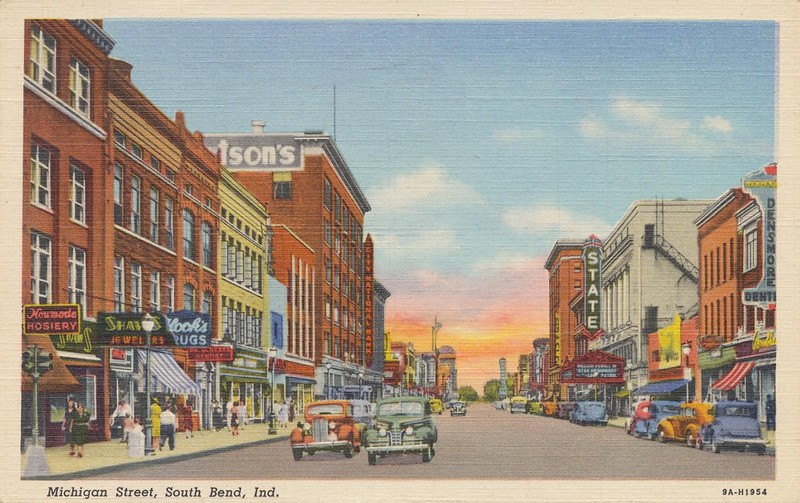 Michigan Street - South Bend, Indiana