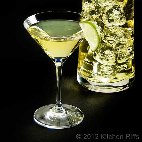Kitchen Riffs: The Gimlet Cocktail