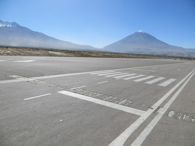 volcano from airport
