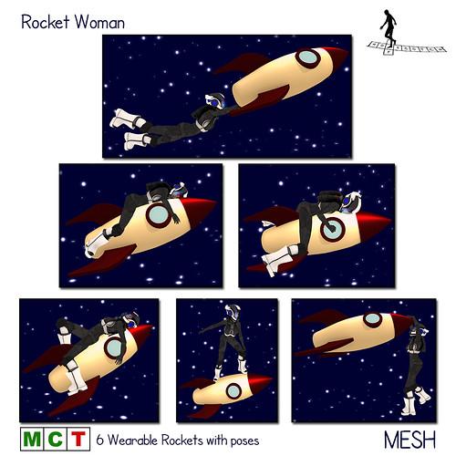 Vintage Fair - Rocket Woman