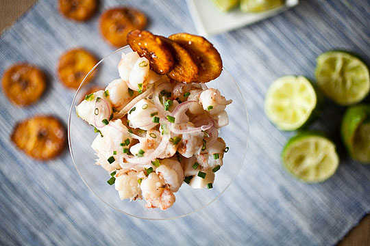 Post image for Rock Shrimp & Scallop Ceviche