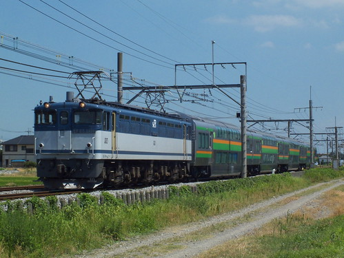 EF65 2101 @行田〜熊谷