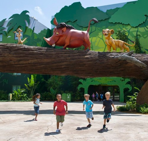 The Lion King wing of DIsney's Art of Animation Resort