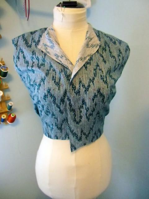 Next project - shirtwaist dress!