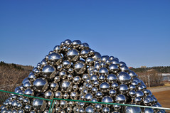 Silver Balls behind Fences