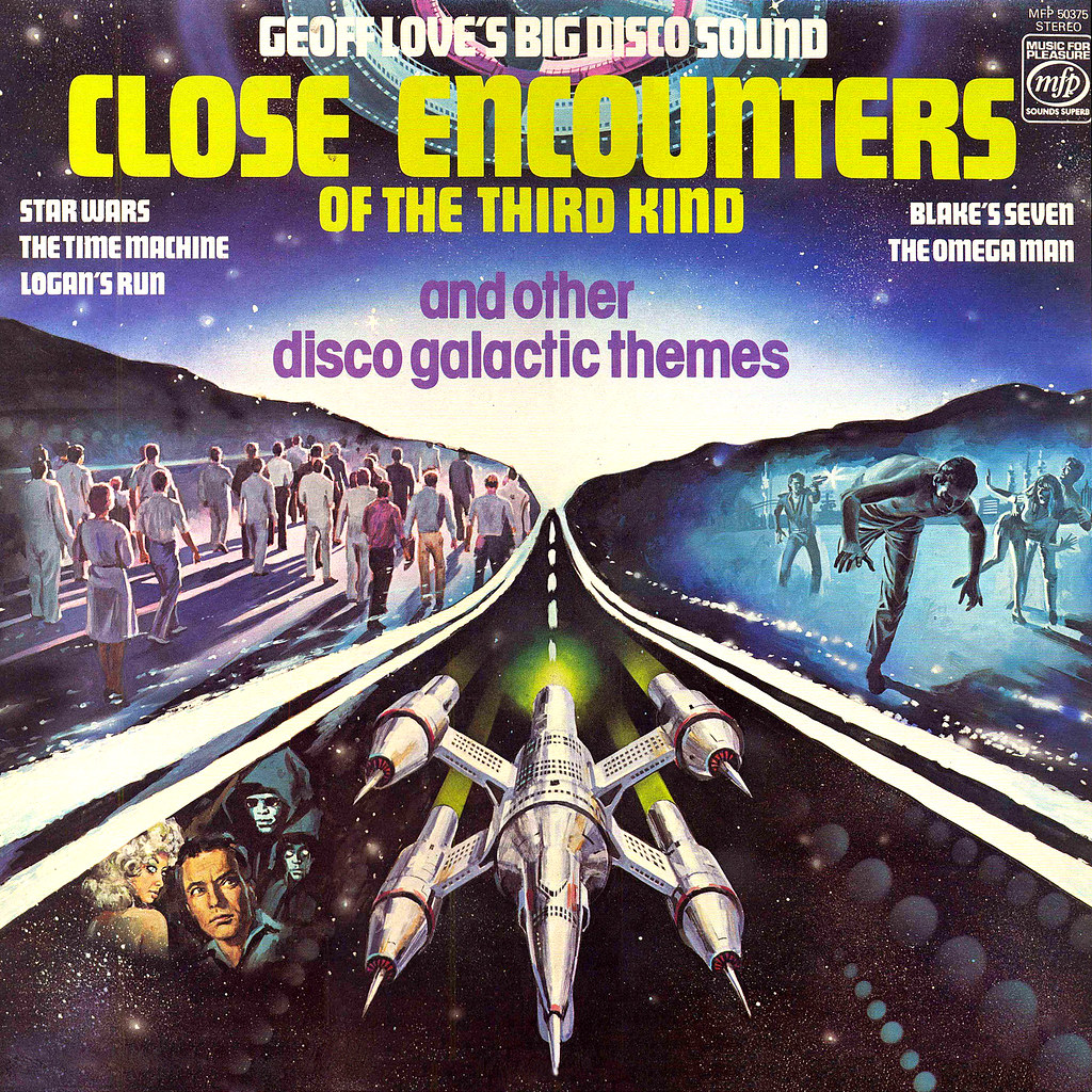 Geoff Love - Close Encounters of the Third Kind and Other Disco Galactic Themes