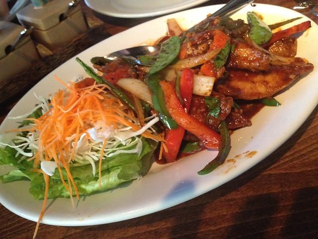 Basil tilapia - Basil Thai Restaurant