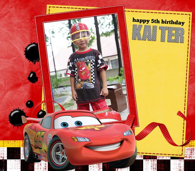 Kai Ter is 5!