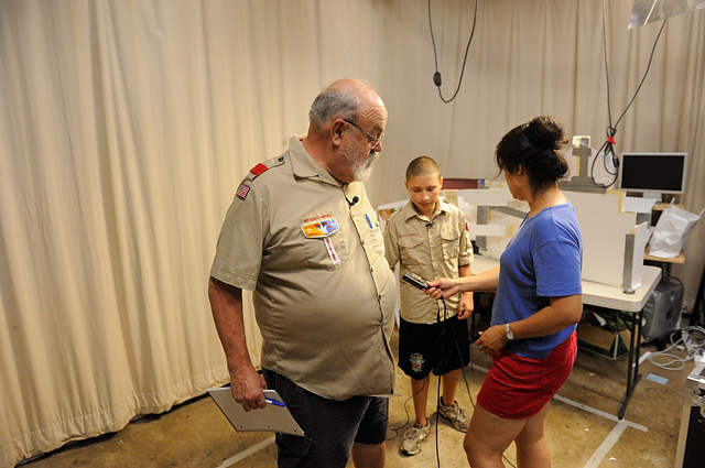 Boy scout uniform community strip hailey
