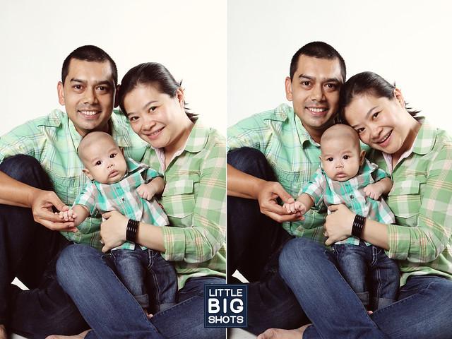 Loving Little Aqeef | Family Studio Portraiture