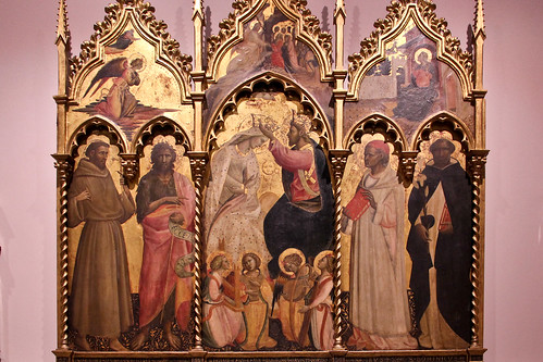 Coronation of the Virgin with Angelic Musicians