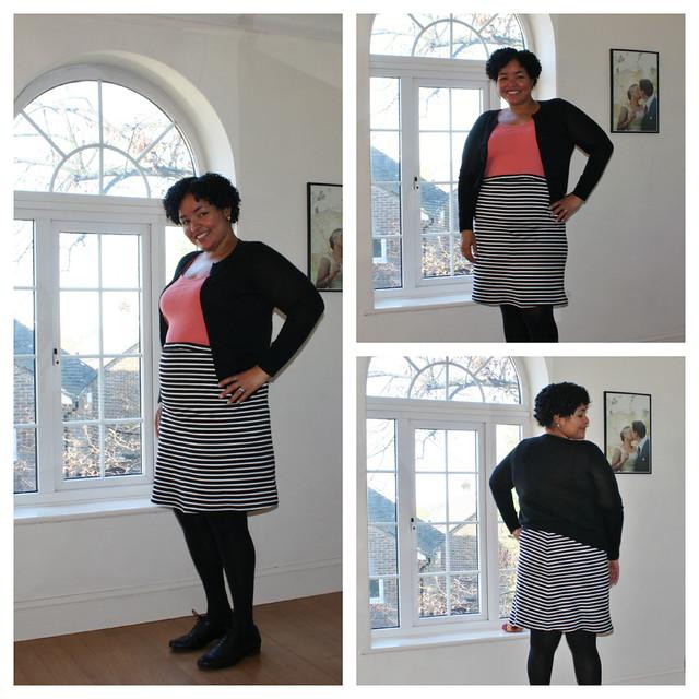 Stripey Maternity Skirt