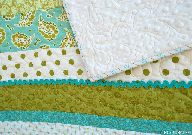 back and quilting details