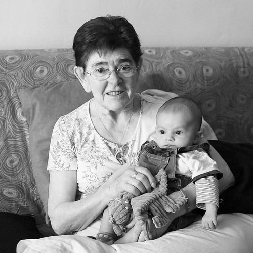 mamie et Héliodore - mai 11