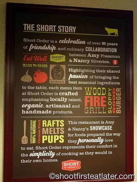 Farmers Market L.A.-  Short Order story