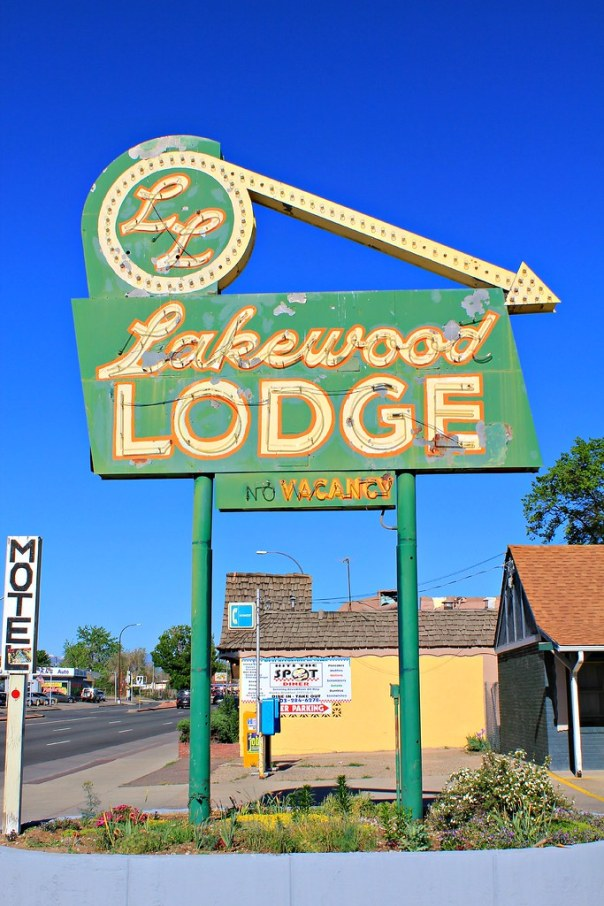 Lakewood Lodge - 5601 West Colfax Avenue, Lakewood, Colorado U.S.A. - May 4, 2012
