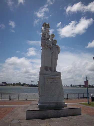 Monument to the Immigrant, New Orleans